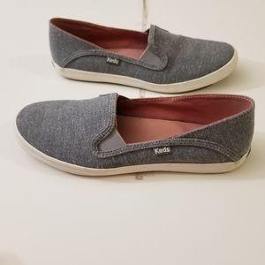 Keds crashback slip on shoes gray
